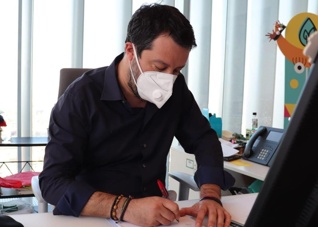 Matteo Salvini - Gronda di Genova